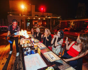 Gastro Garage Returns with their Fiery Pop-Up on the Rooftop of the W Hollywood @ W Hollywood